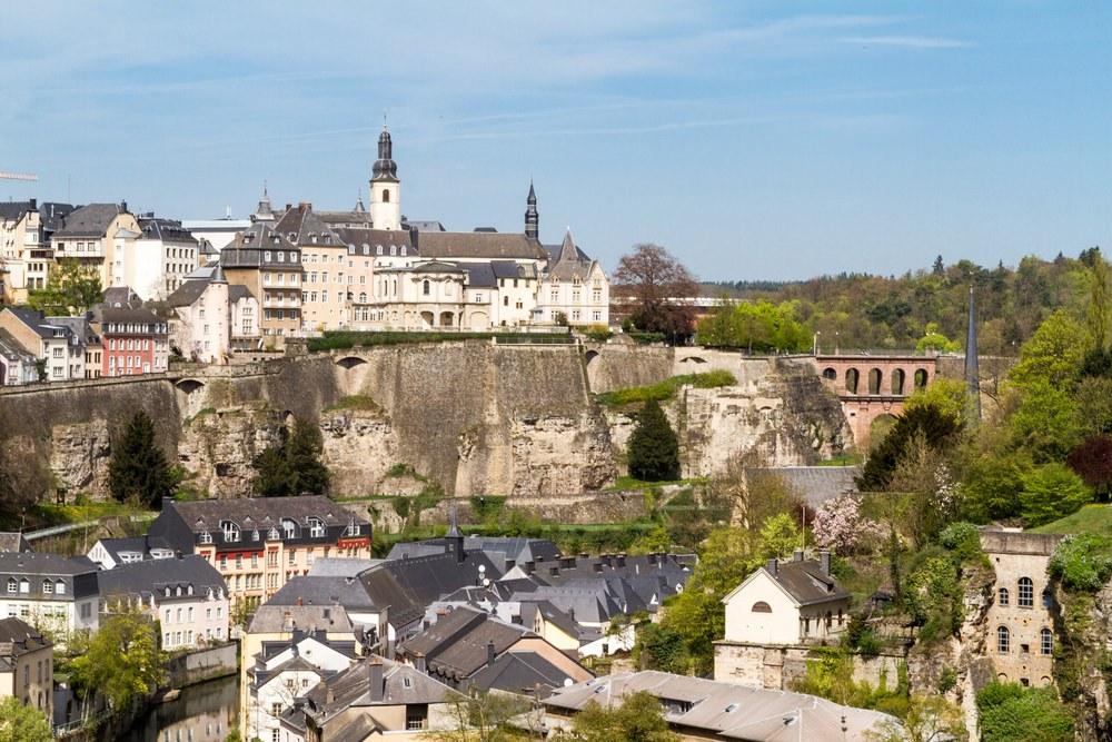 Benelux in moto - Lussemburgo