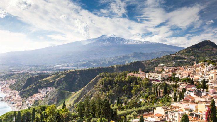 Motoitinerari Sicilia, Etna
