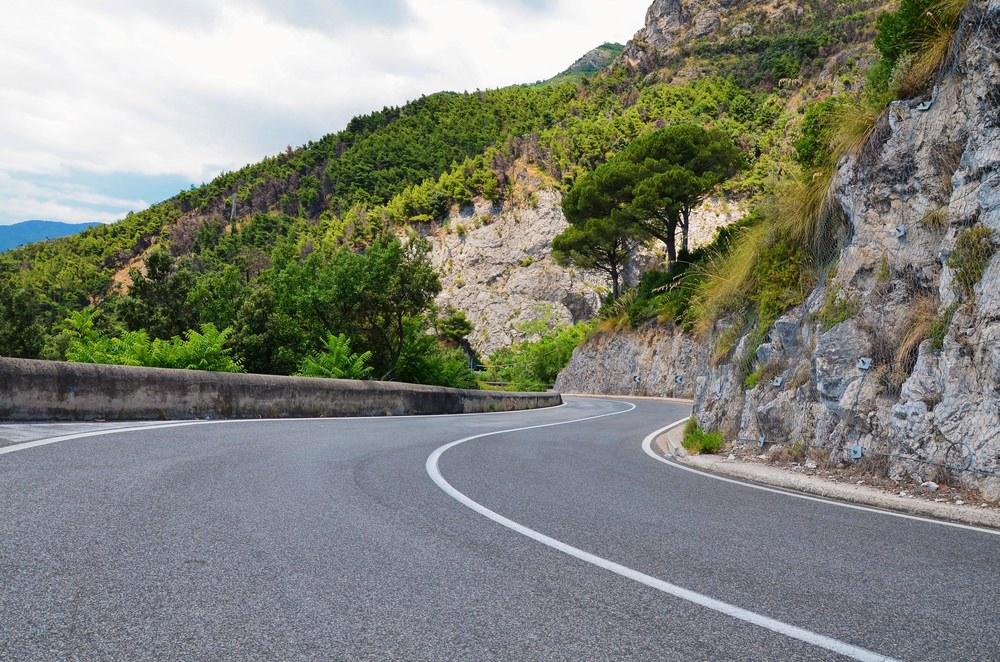 Costiera Amalfitana in moto, strade
