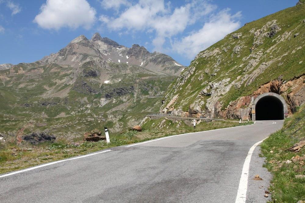 Passo Gavia moto