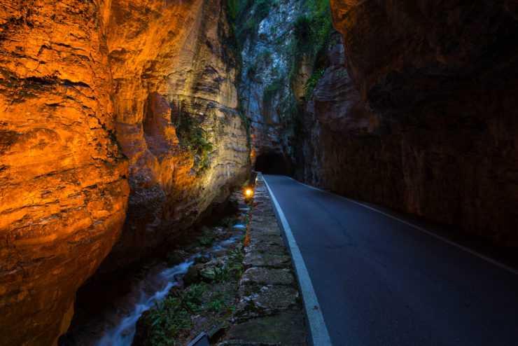 strada della forra 740x494 - Strada della Forra, percorsi in moto sul Lago di Garda