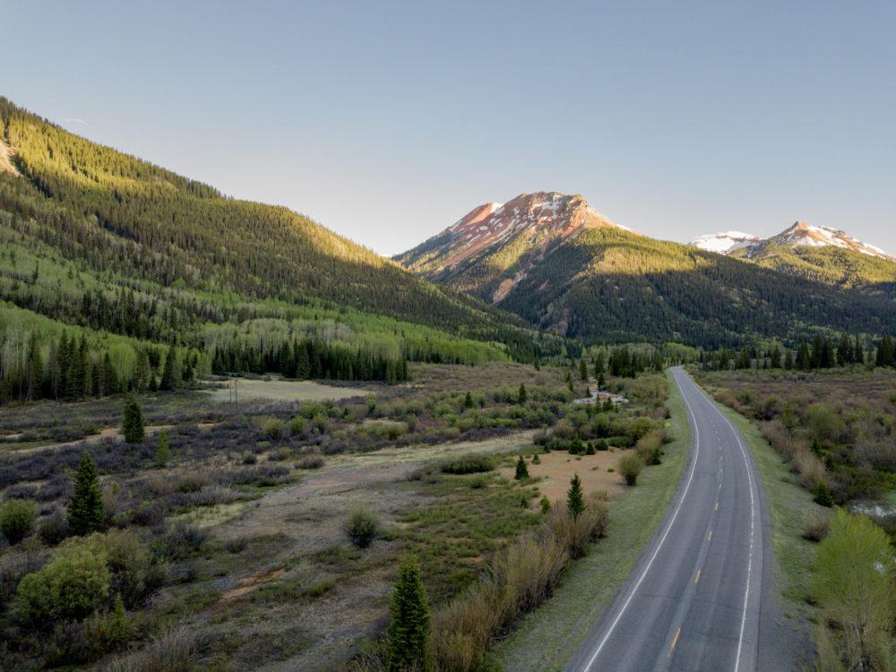 Million Dollar Highway. Red Mountain Pass