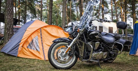 Viaggi in moto, dove dormire