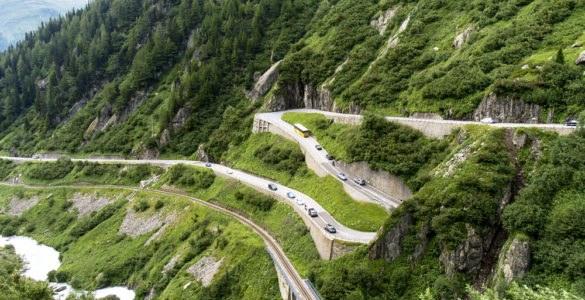 Passo della Novena, Svizzera
