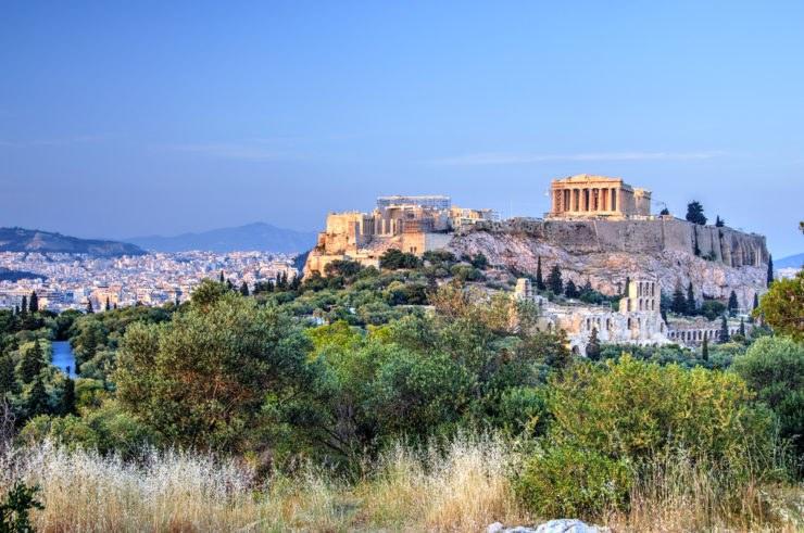 Penisola ellenica, Atene