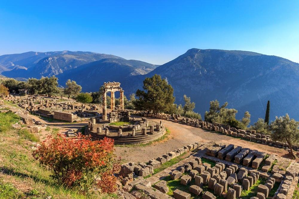 Delfi, moto vacanze in Grecia