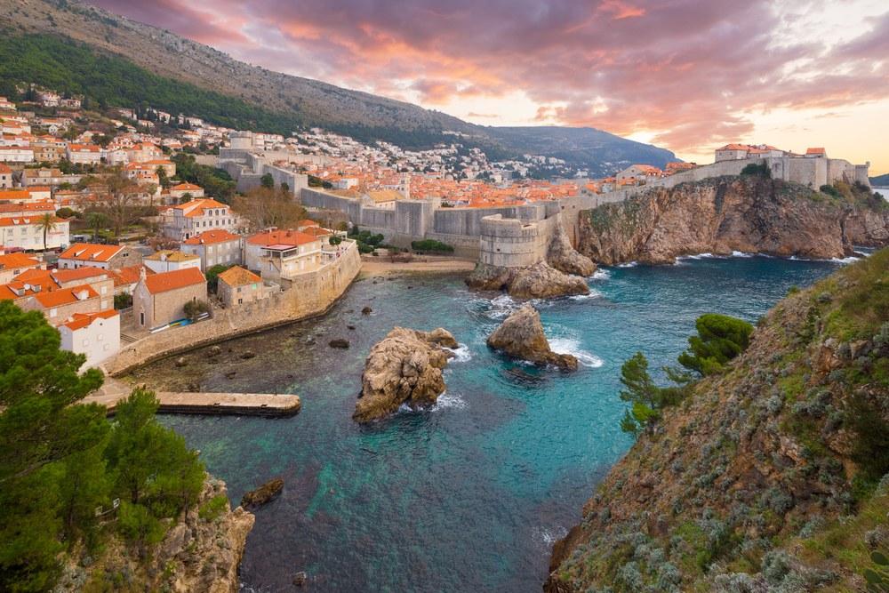 strade moto gran turismo: costa adriatica orientale, Dubrovnik