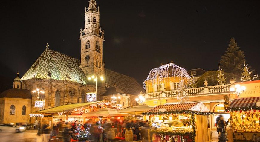 Mercatino Bolzano - In moto tra i Mercatini di Natale