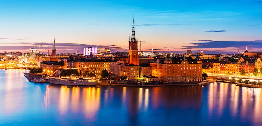 Viaggio in moto in Scandinavia: la città di Stoccolma