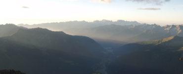 Itinerario in moto lungo la Val di Sole