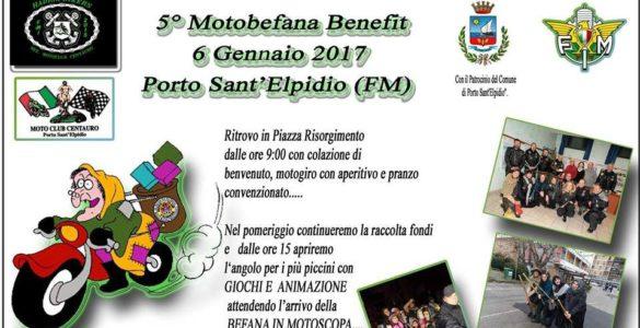eventi motoraduni marche v motobefana benefit compressor 585x300 - V Motobefana Benefit - Porto Sant'Elpidio (FM), venerdì 6 gennaio 2017