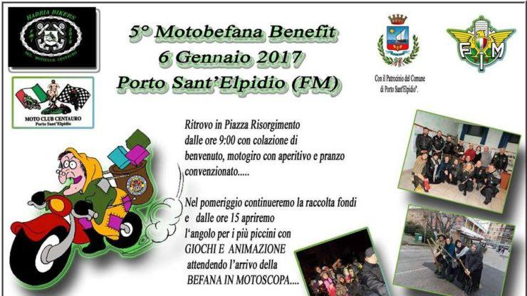 eventi motoraduni marche v motobefana benefit compressor 740x416 - V Motobefana Benefit - Porto Sant'Elpidio (FM), venerdì 6 gennaio 2017