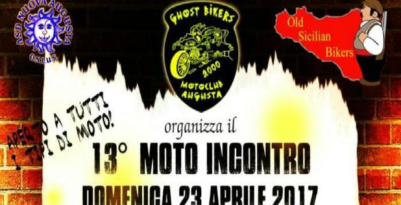 eventi motoraduni sicilia motoincontro ghost bikers 13 585x300 - 13° Motoincontro Ghost Bikers - Augusta (SR), 23 aprile 2017