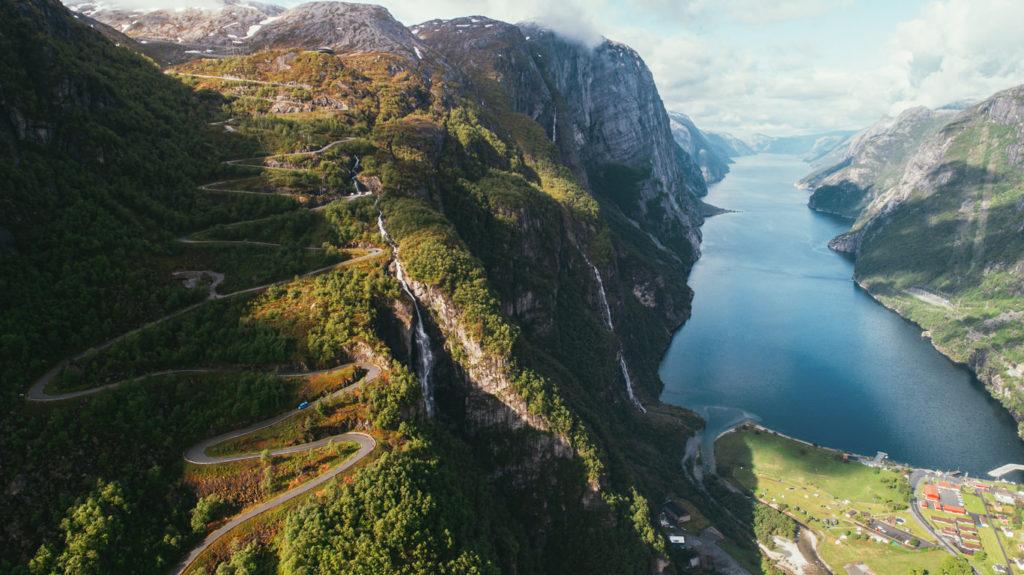 Lysefjord, Norvegia