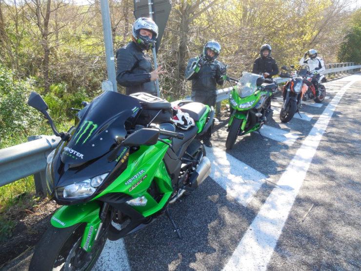 We Love Norcia – In moto con Bonzo Team