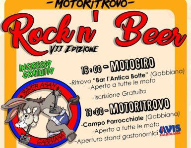 Volantino 2017 Ridimensionato 385x300 - Rock 'n Beer, VII Edizione - Gabbiana (MN), 3 giugno 2017