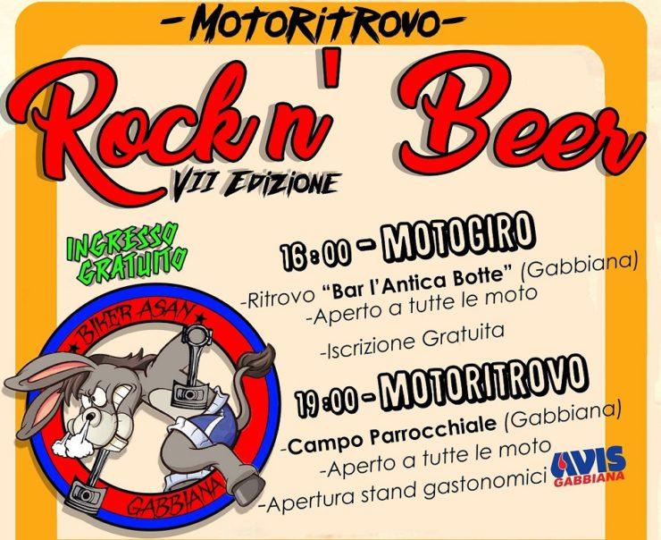 Volantino 2017 Rock n Beer