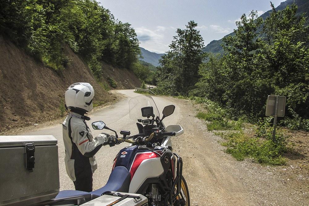 Montenegro in moto estate