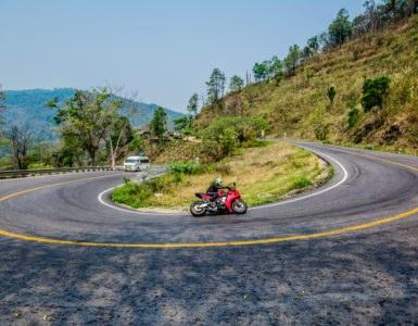 Curve in moto