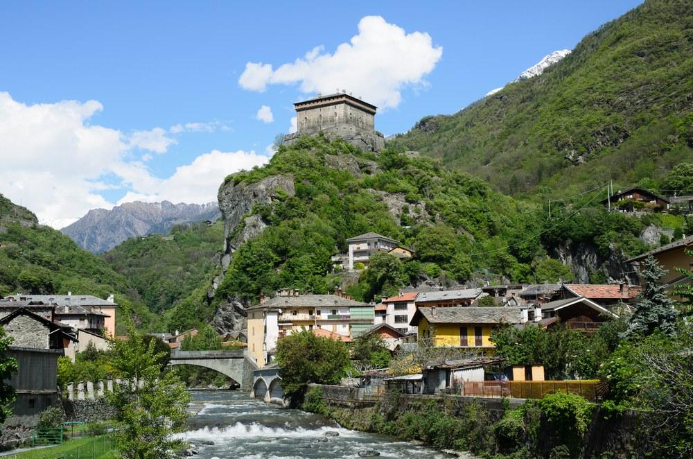 Castello di Verres, Valle d'Aosta