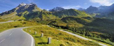 Silvretta, Austria in moto