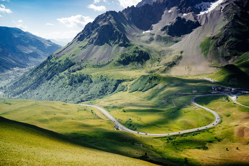 Galibier, Francia, Alpi