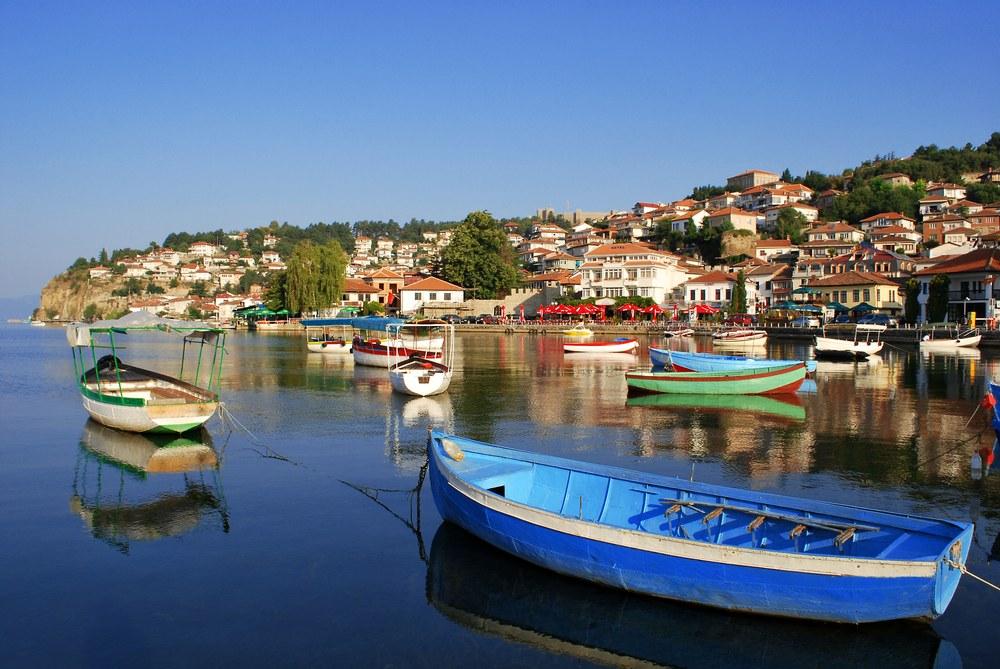 Lago di Ocrida, porto
