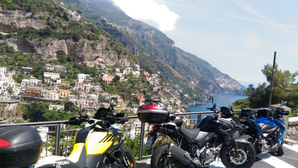 Costiera Amalfitana in moto