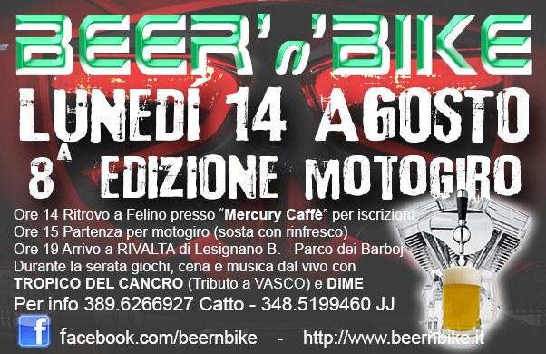 bv s - Beer 'n' Bike - Felino (PR), 14 agosto 2017