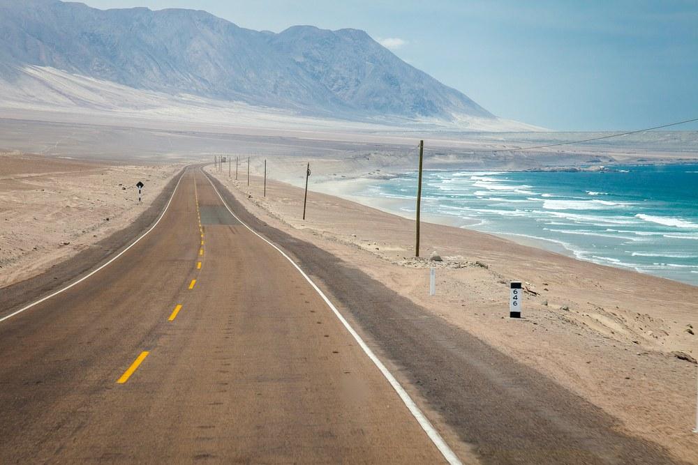 Carretera Panamericana, Perù