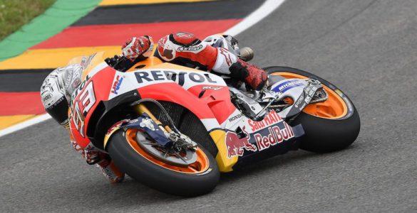 MotoGP 2017, vittoria e testa della classifica al Sachsenring per Marc Marquez