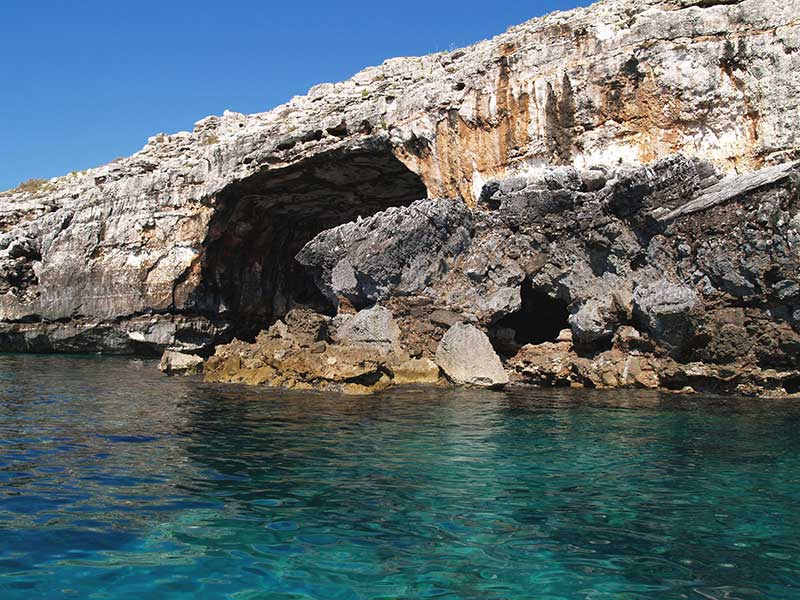 Grotta dei giganti Leuca
