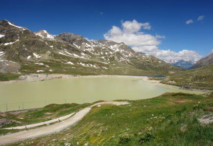 Passo Bernina moto