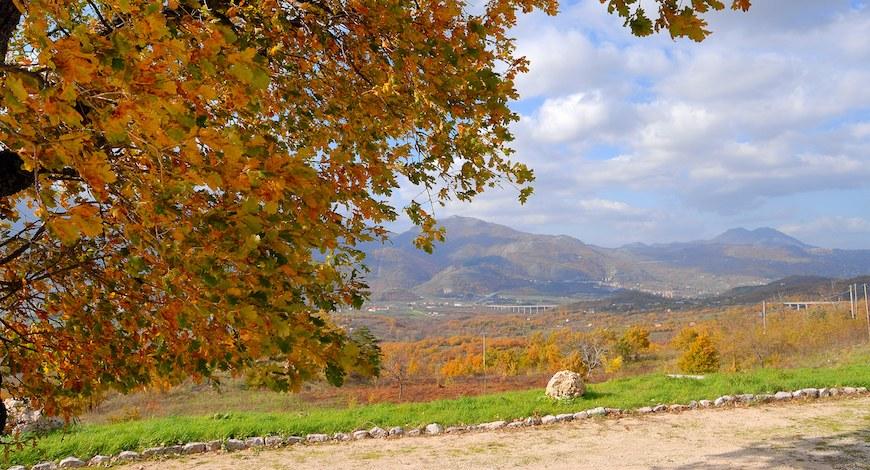 Parco Regionale dei Monti Picentini: paesaggi autunnali