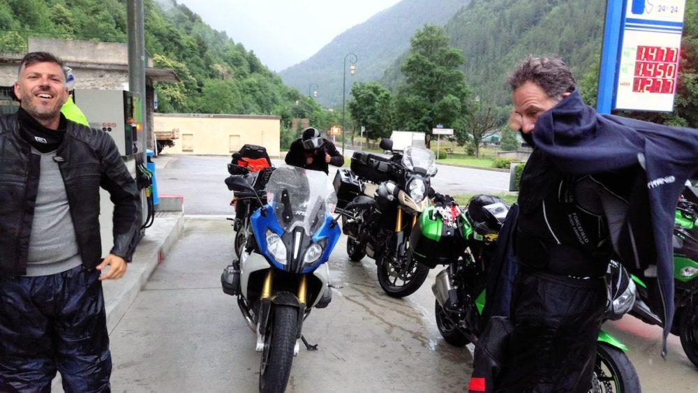 Bonette in moto