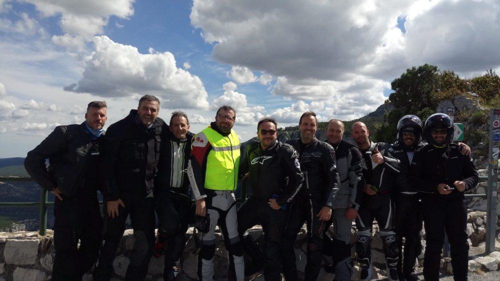 Route des Cretes in moto