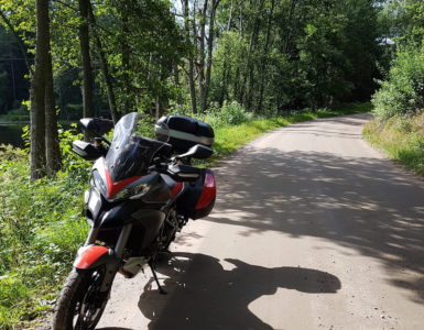 Capo Nord in moto