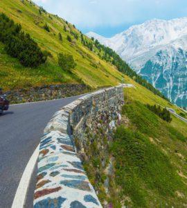 passi di montagna in Europa