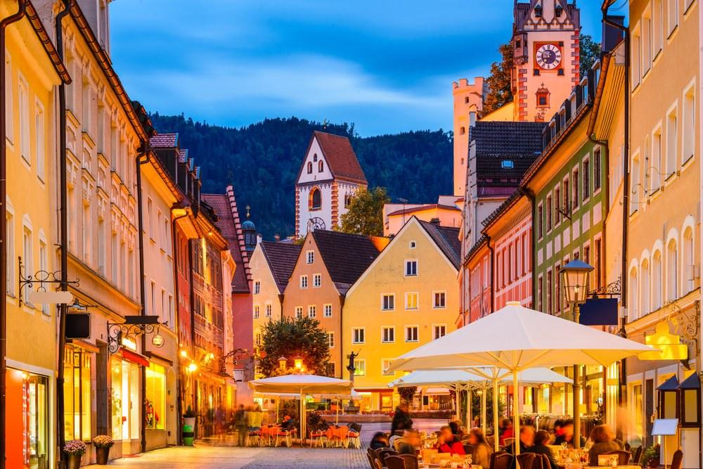 Fussen - Strada Tedesca delle Alpi