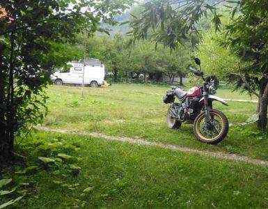 Ducati Scrambler in Transilvania