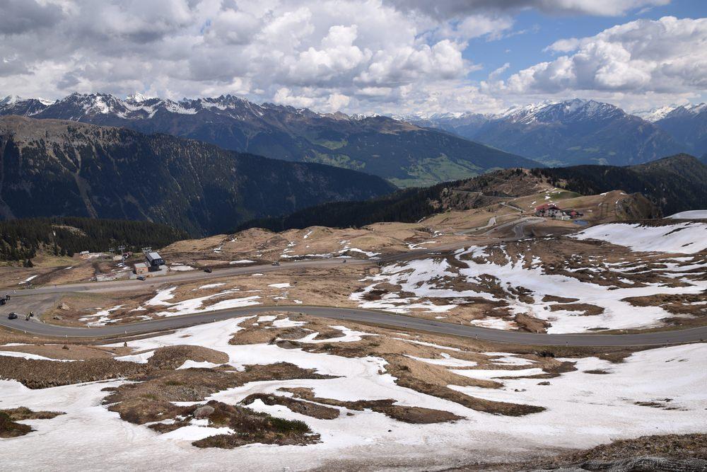 Passo di Monte Giovo in moto Trentino