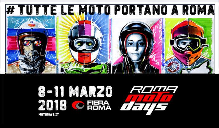 Roma Motodays Visual Aldo Drudi