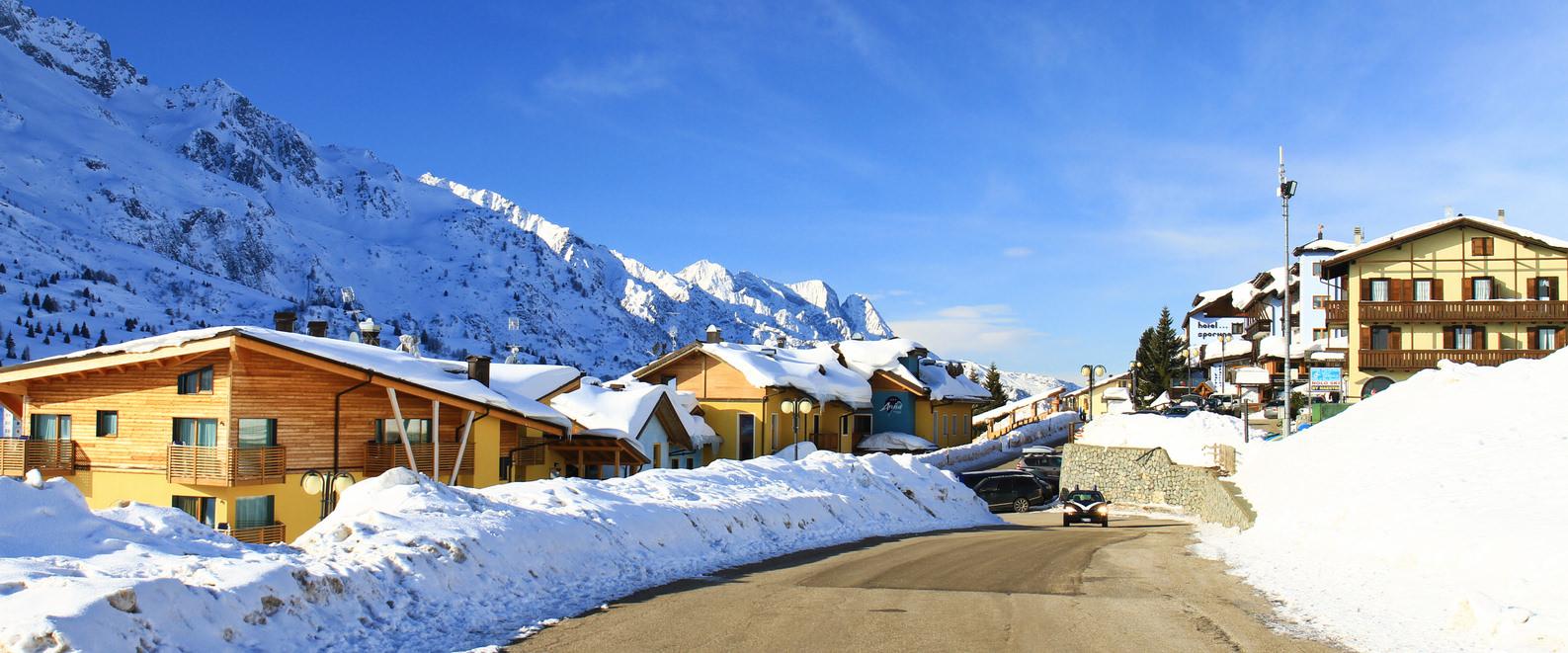 Passo del Tonale, inverno