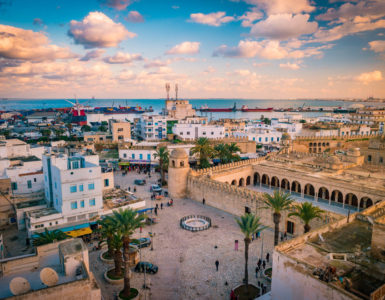 Tunisia in moto