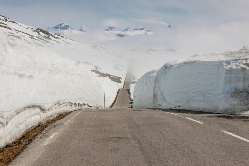 Sognefjellet, Norvegia in moto. La strada