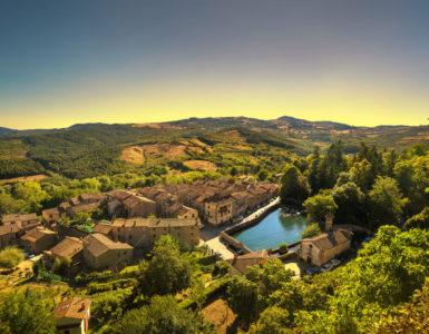 Monte Amiata, Toscana in moto