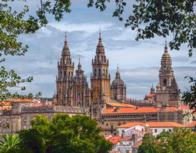 Spagna in moto. Santiago de Compostela