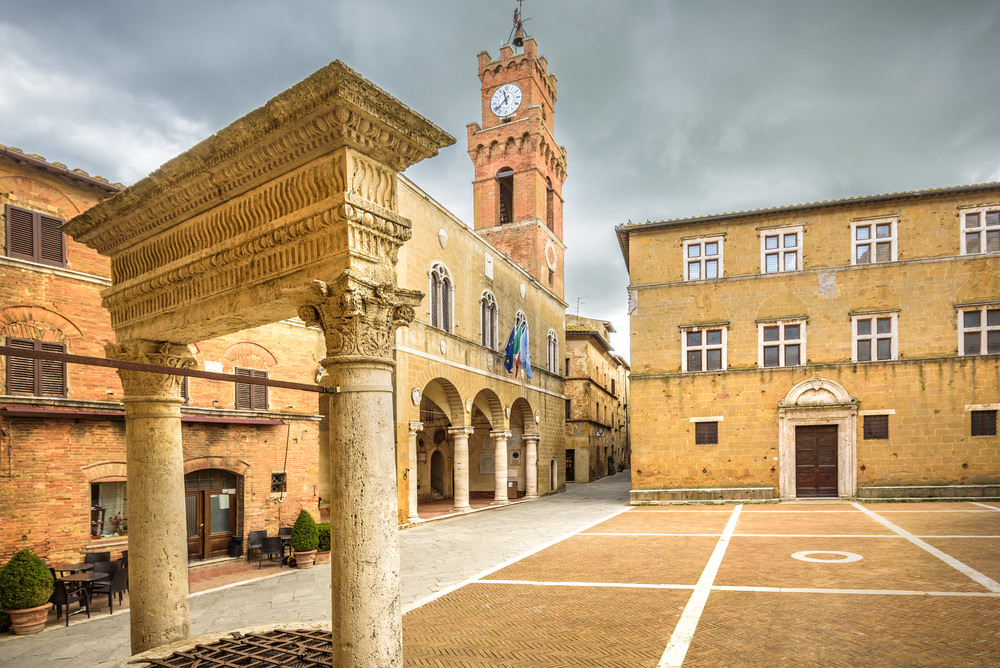 Toscana in moto. Pienza