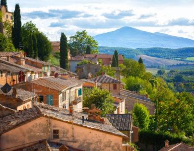 Montepulciano, Toscana in moto