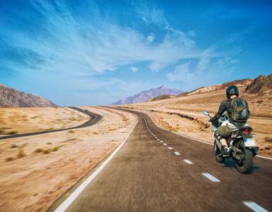 Viaggi in moto pneumatici